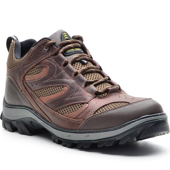 Coturno Atron Shoes Masculino Em Couro Legítimo Confortável