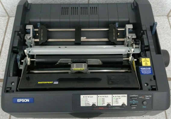 Impressora Epson Matricial Fx-890 Edge - 110v. - Usb - Black