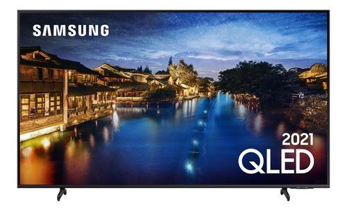 Imagem 1 de 10 de Smart Tv 50  Samsung Qled 4k 50q60a Modo Game Alexa 2021