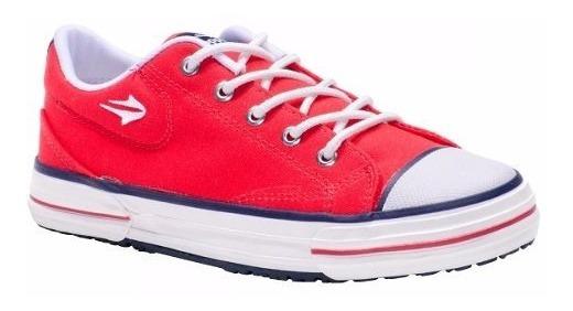 Zapatillas Topper Nova Low Hombre Rojo