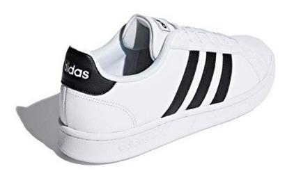 Tenis adidas Blanco Rayas Negras