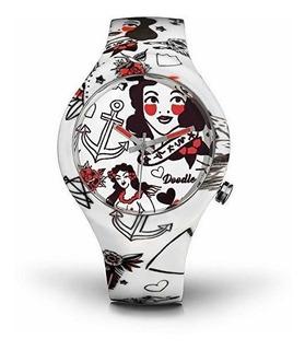 Doodle Watch Dota003- Rockabilly- Tattoo