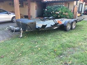 Carro De Arrastre Aerovan Plataforma 6,2m 7 Motos