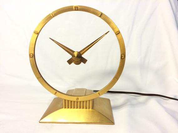 Hermoso Reloj Jefferson Misterio Chapa Oro Vintage U.s.a.