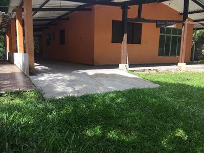 Belíssima Chácara No Jd. Regina Em Itanhaém, Ca-342