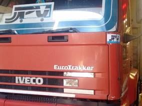 Iveco Eurotrakker Mod 98 Techo Alto Carroceria Recibo Camion