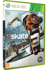 Skate 3 - Xbox 360 - Novo - Mídia Física - Lacrado