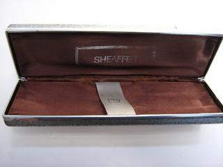 Caja Estuche Para Pluma Sheaffer De Los 70s (usado Original)