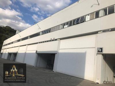 Excelente Galpão Para Locação Em Jandira - Polo Industrial De Jandira - Confira!!! - Ga0109
