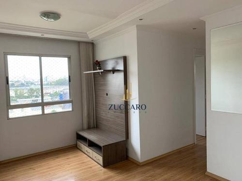 Apartamento Com 3 Dormitórios À Venda, 54 M² Por R$ 300.000,00 - Ponte Grande - Guarulhos/sp - Ap16017