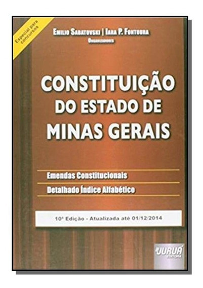 Constituicao Do Estado De Minas Gerais 01