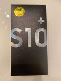 Samsung Galaxy S10 Plus Preto / Tela 6,4 / 128gb / Dual Sim