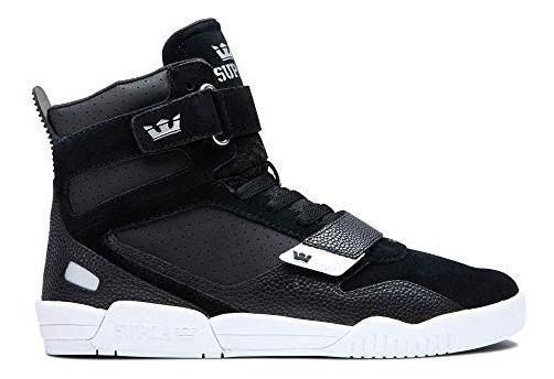 Supra Zapatillas Para Hombre Color Negro Y Blanco