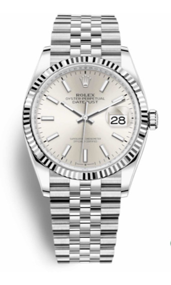 Rolex Datejust 36mm Ouro Branco Original