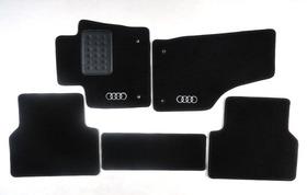 Tapete Carpete Super Luxo Preto Audi Q3 5 Peças  2013 A 2017