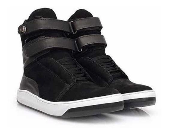 Tênis Hardcore Footwear - Sneaker Fitness Botinha Couro