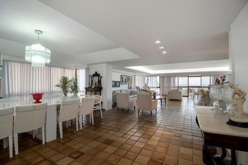 Imagem 1 de 25 de Apartamento Com 4 Quartos À Venda, 412 M² Por R$ 4.699.999 - Boa Viagem - Recife/pe - Ap2583