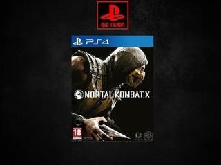 Mortal Kombat X | Digital Ps4 | @red.tienda
