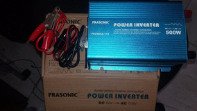 Inversor Power Prasonic 500w Dc-12v - Ac110v Transformador
