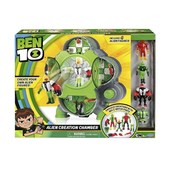 Ben 10 Mini Figuras E Conjunto De Criação Alien 1793 Sunny