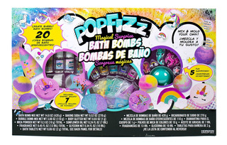 Popfizz Bombas De Baño De Unicornio