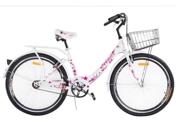 Bicicleta X-terra Karyn -paseo Dama C/canast.6vel