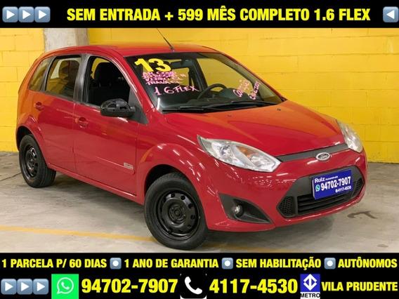 Ford Fiesta Hatch Rocam 1.6 Flex Completo Sem Entrada + 599