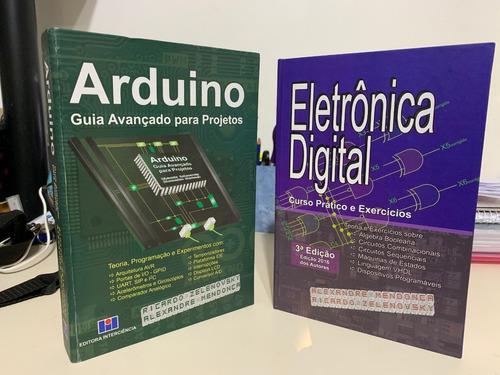 Imagem 1 de 6 de Livros Arduino & Eletrônica Digital 10% Desc. Capa Dura