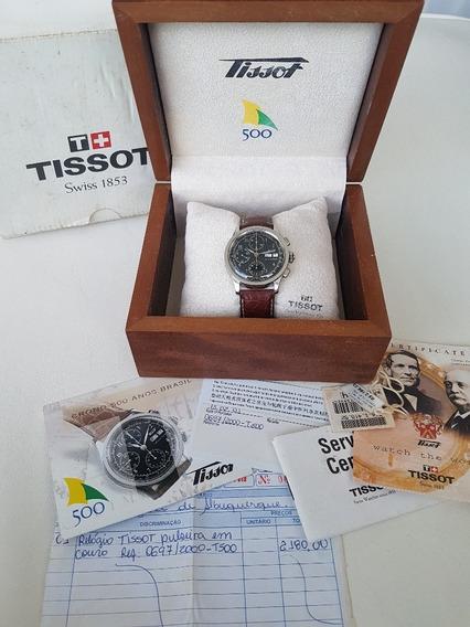 Tissot 500 Anos Brasil Ed. Comemorativa Limitada A Corda