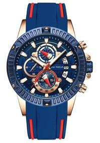 Relógio Masculino Sport De Luxo (diversas Cores)