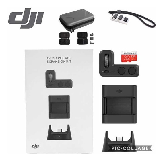 Dji Osmo Pocket Kit Expansion + Bag + Placa Pra Conectores