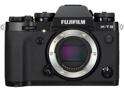 Câmera Digital Fujifilm X-t3 (corpo) / Xt3 Preta X-t3 Black