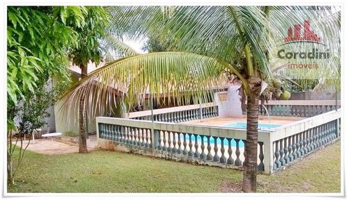 Chácara Residencial À Venda, Jardim Chácaras De Recreio Santa Helena, Limeira. - Ch0037