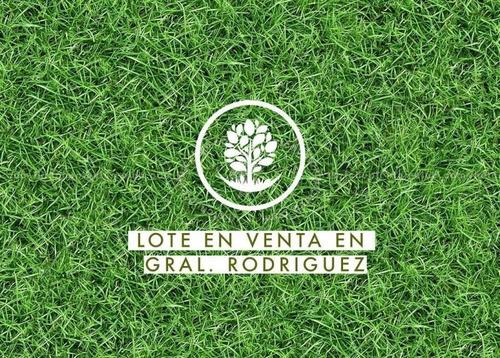 Terreno En Venta En General Rodríguez