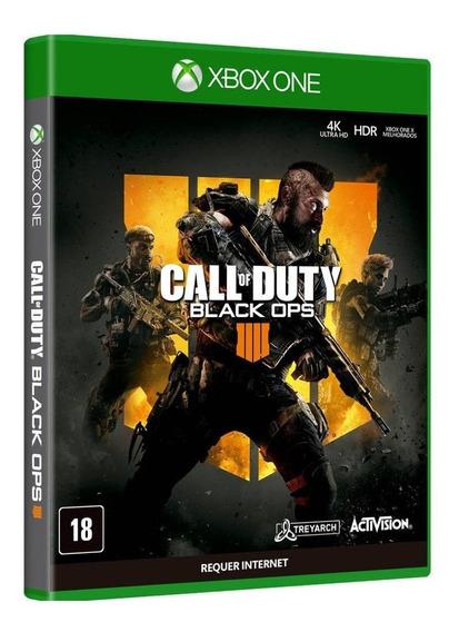 Call Of Duty Black Ops 4 - Xbox One - Novo - Física