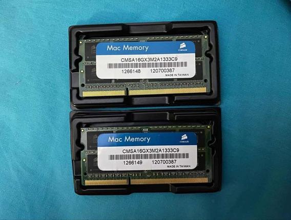 Memoria Ram Corsair Certificada Por Apple 16 Gb 1333mhz