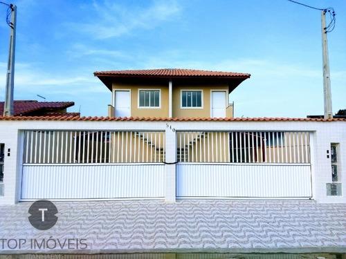 Casa De 2 Dormitórios  Sobreposta Baixa À Venda Em Itanhaém ,são Paulo,bairro Nova Itanhaém - Ca00331 - 34483512