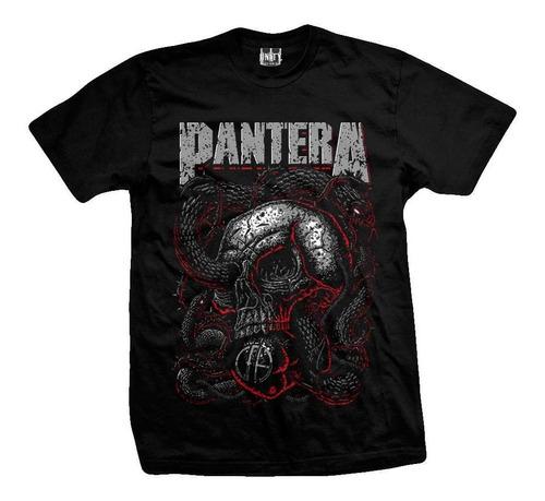Imagen 1 de 3 de Remera Pantera  Rattle Snake