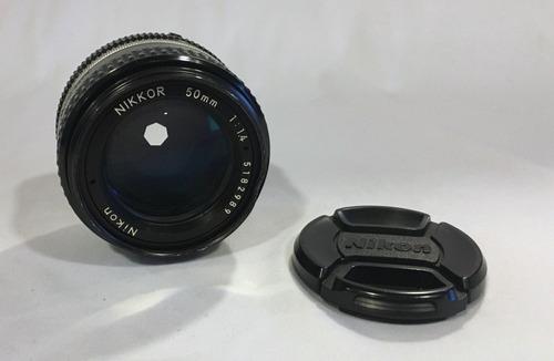 Lente Objetiva Nikon 50mm F:1.4