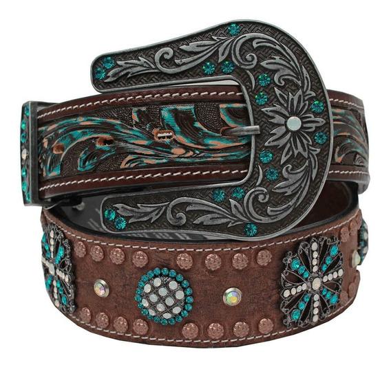 Cinto Arizona Belts Feminino Azul