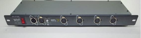 Splitter Dmx De 4 Saídas Isoladas