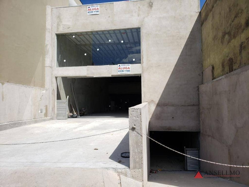 Galpão Para Alugar, 700 M² Por R$ 18.000,00/mês - Vila Baeta Neves - São Bernardo Do Campo/sp - Ga0398