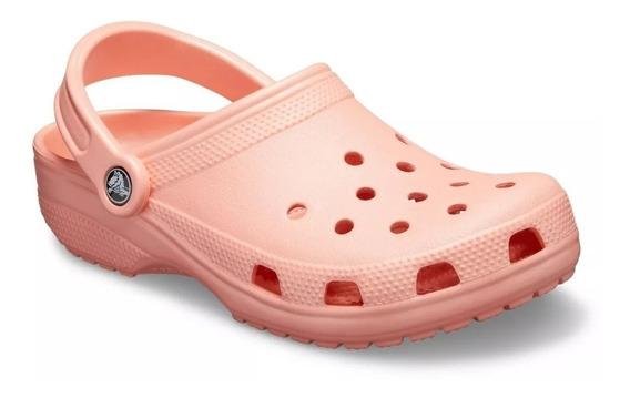 Zapato Crocs Rosa Claro Sandalia Para Hombre Y Mujer Unisex