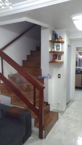 Imagem 1 de 14 de Sobrado Com 2 Dormitórios À Venda, 55 M² Por R$ 299.000,00 - Jaraguá - São Paulo/sp - So1717