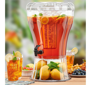 Vitrolero Dispensador De Bebidas Agua 11 Litros Envío Msi