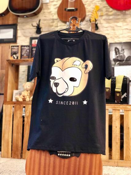 Camiseta Do Urso 100% Algodão Penteado