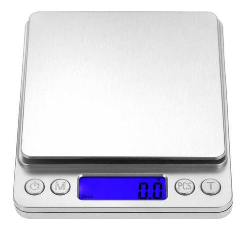Balanza Digital De Precisión De 0.01 Grs A 500 Grs Lcd Luz