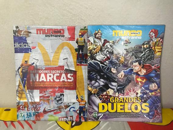 Revistas Mundo Estranho - Edições 2016 Especiais (por Unid)