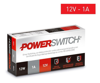 Fuente Switching Metalica Interior 12w 1a 12v - Pd-12