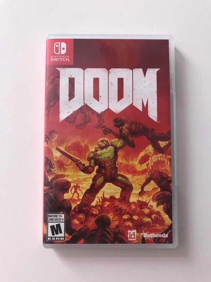 Doom Nintendo Switch Mídia Física Original